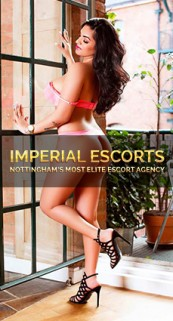 A professional and stunning photograph of Tatiana from Imperial-Escorts
